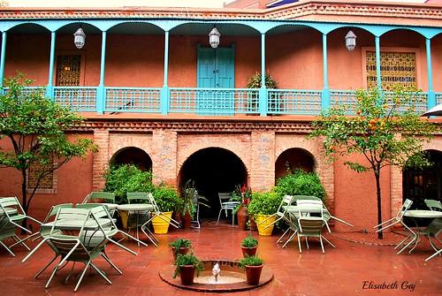 maroco012015 elisabethgaj afryka marrakech travel garden architecture building