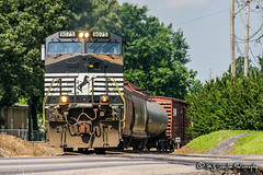 NS 9075 | GE C40-9W | NS Memphis District