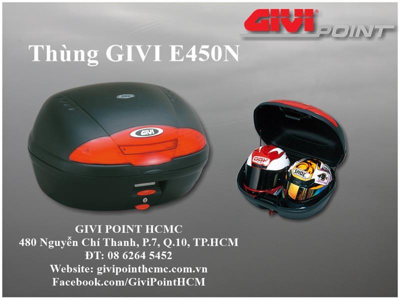 Thung xe Givi - 15