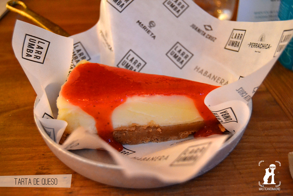 Tarta de queso Frida Madrid