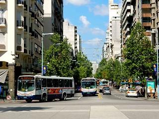Montevideo   Centro   Plaza Independencia   Avenida-18-Julio   Uruguay