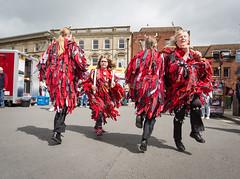 Red Stag Morris - Wimborne Minster Folk Festival 2017