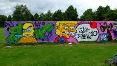 Graffiti Prinsenpark