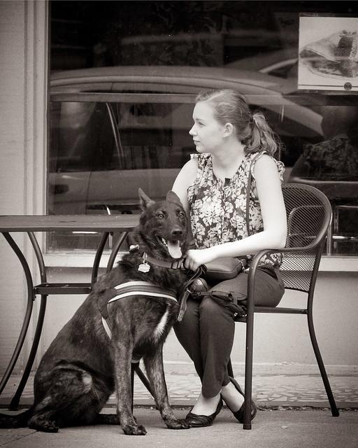 Girl and Dog-1292
