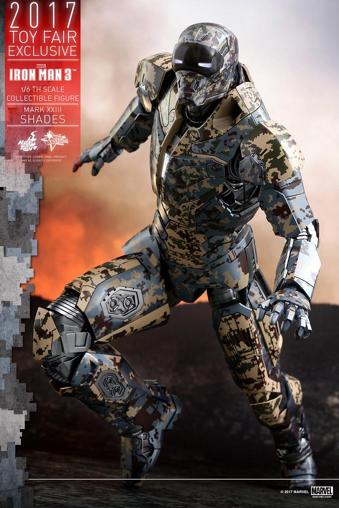 2017 香港動漫節限定版!Hot Toys - MMS415 - 《鋼鐵人3》1/6 比例馬克23 - 暗影 Iron Man 3 Mark XXIII