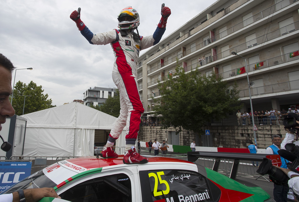 25 BENNANI Mehdi (mor) Citroen C-Elysee team Sébastien Loeb Racing action during the 2017 FIA WTCC World Touring Car Championship race of Portugal, Vila Real from june 23 to 25 - Photo Gregory Lenormand / DPPI