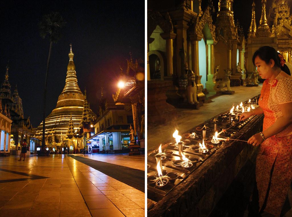 magiske oplevelser i Yangon, Burma