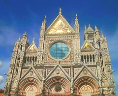 Sienna Cathedral Facade