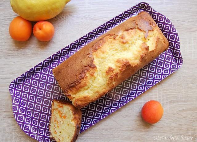 cake citron abricot sans gluten sans lactose