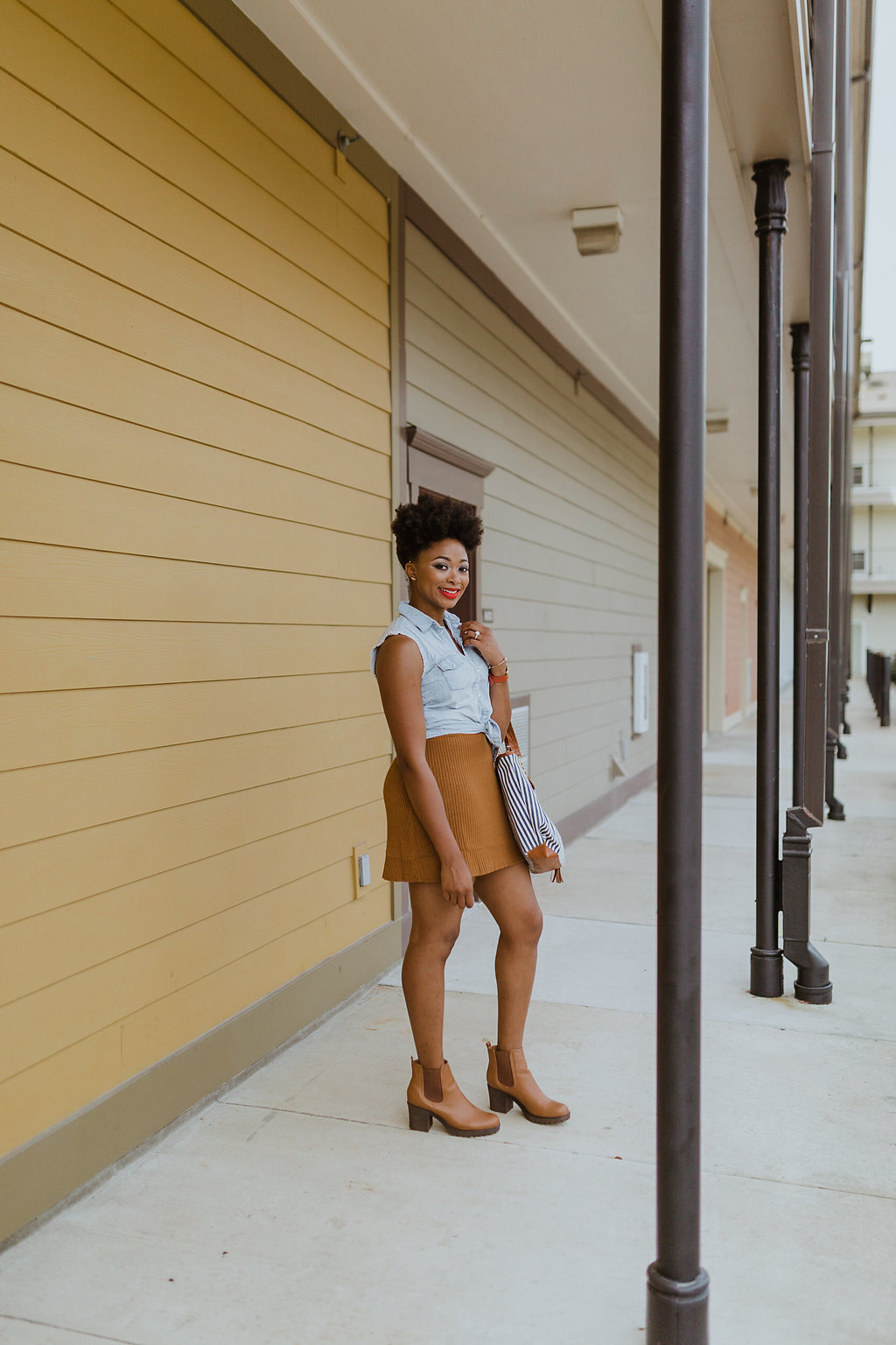 how to style a skater skirt