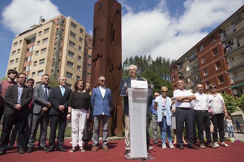 Los Socialistas Vascos acudimos al homenaje por el XX aniversario del asesinato de Miguel Ángel Blanco
