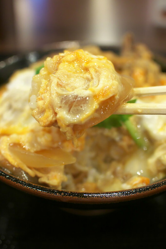 丸亀製麺渋谷メトロプラザ店限定 牛とじ丼