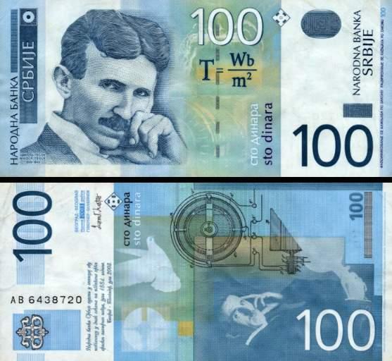 100 Dinárov Srbsko 2003, P41a