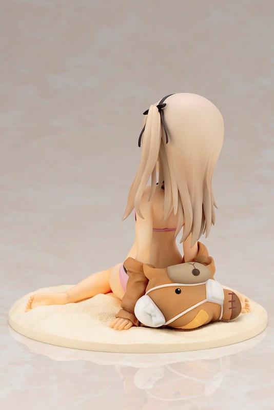 到海邊也要和最愛的「欠揍熊」一起!《少女與戰車劇場版》 島田愛里壽 泳裝ver.(島田愛里寿 水着ver.) 1/7比例模型