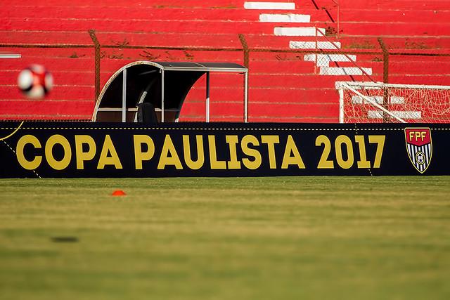 2017-07-13 COPA PAULISTA DE 2017: Linense continua treinando para o jogo contra o Velo Clube
