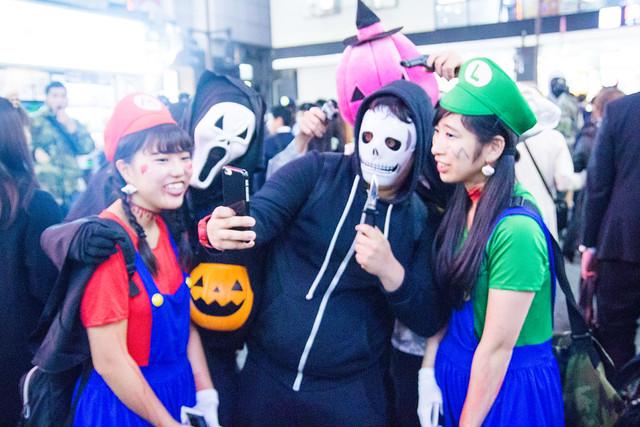 Photo:Shibuya Halloween 2016 (October 31) By Dick Thomas Johnson