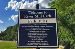 River Mill Park Rules -- Occoquan (VA) June 2017