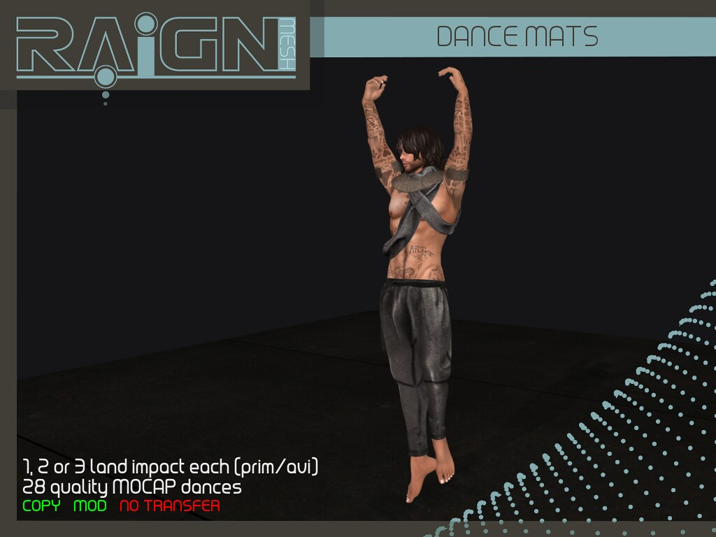 RAIGN Dance Mats - SecondLifeHub.com