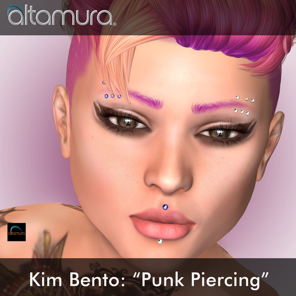 "Altamura Group: "" Kim Bento Punk piercing"" - SecondLifeHub.com"