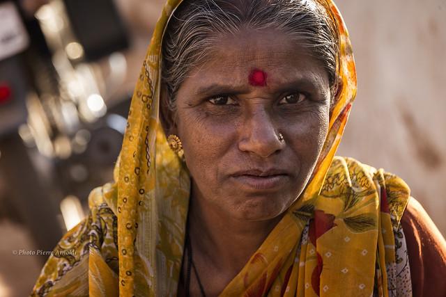 PORTRAIT INDIEN À BADAMI