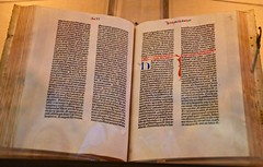 The Gutenberg Bible at the Library of Congress