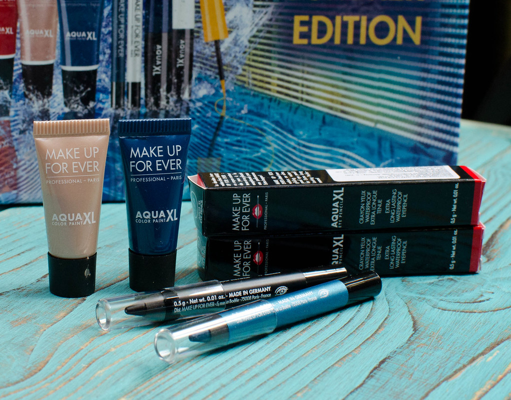 макияж с Make Up For Ever Aqua XL Box