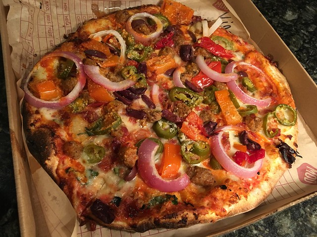 Create your own pizza - MOD Pizza