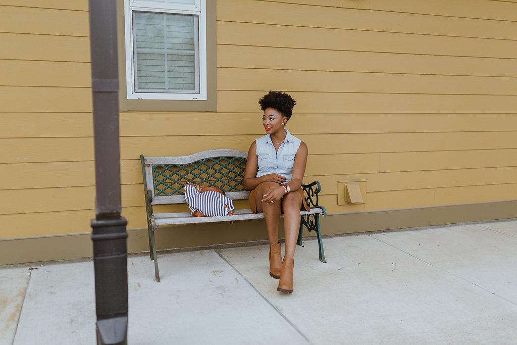 Baton Rouge street style, candace Hampton