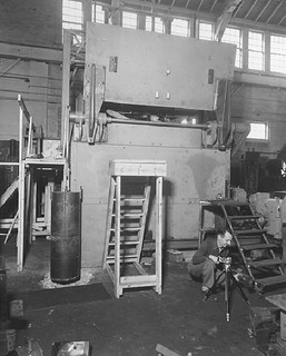 Photograph of Mosler Safe for Constitution, etc. Being Constructed at Hamilton, Ohio