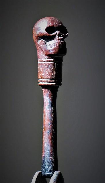 18th Century Memento - Mori Pipe Tamper