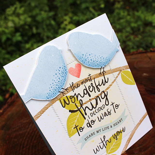 Love Birds Card 3