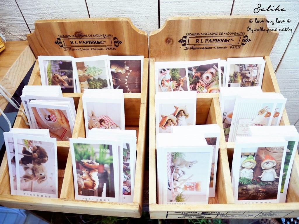 台中市西區可愛咖啡館餐廳下午茶推薦PUGU 田園雜貨 (1)