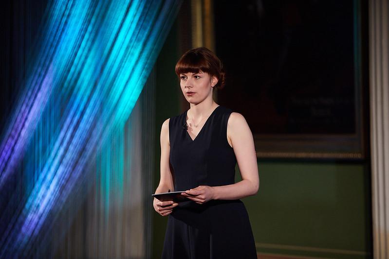 Dr. Katarina Braune on stage
