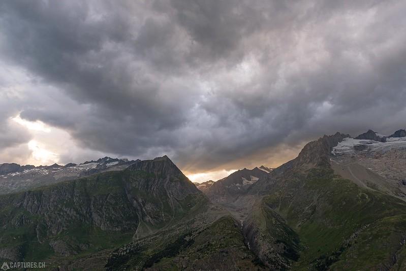 Dark sky - Aletsch