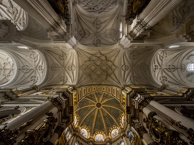 Granada - Cathedral, Olympus E-M5, Lumix G Vario 7-14mm F4.0 Asph.