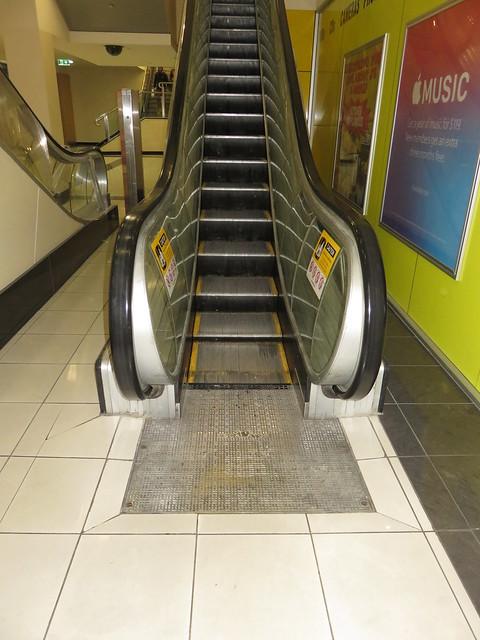 Rundle Mall Plaza - Narrow Escalator