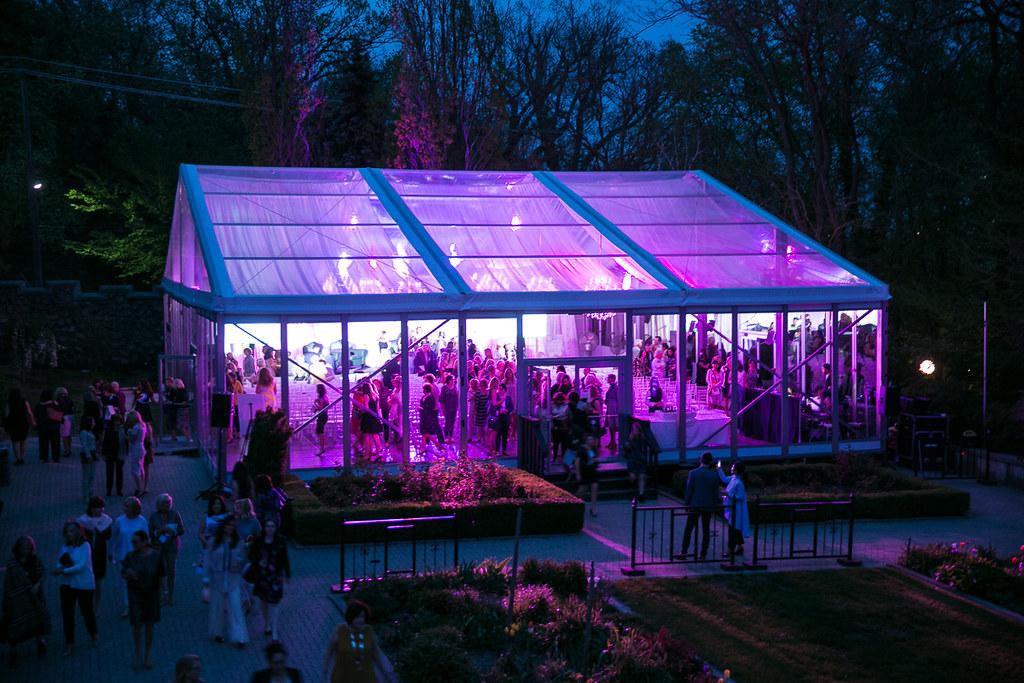 Casa Loma Glass Pavilion