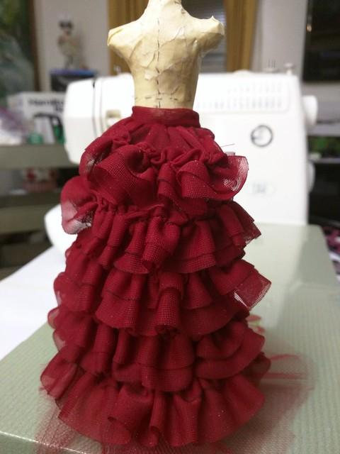 Galerina's unseen Victorian bustle petticoat. So fancy, yet completely hidden.