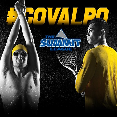 It's official — Men's Tennis and Men's Swimming will join the Summit League this fall! #GoValpo