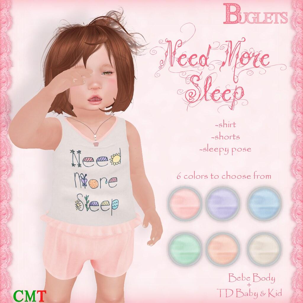 Need More Sleep AD - SecondLifeHub.com