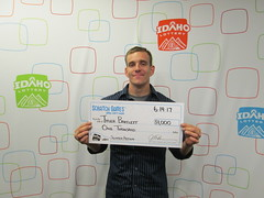 Tyler Bartlett - $1,000 - Slingo Action - Nampa - Jacksons Food Stores #061