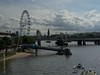 London Eye - Thames scene