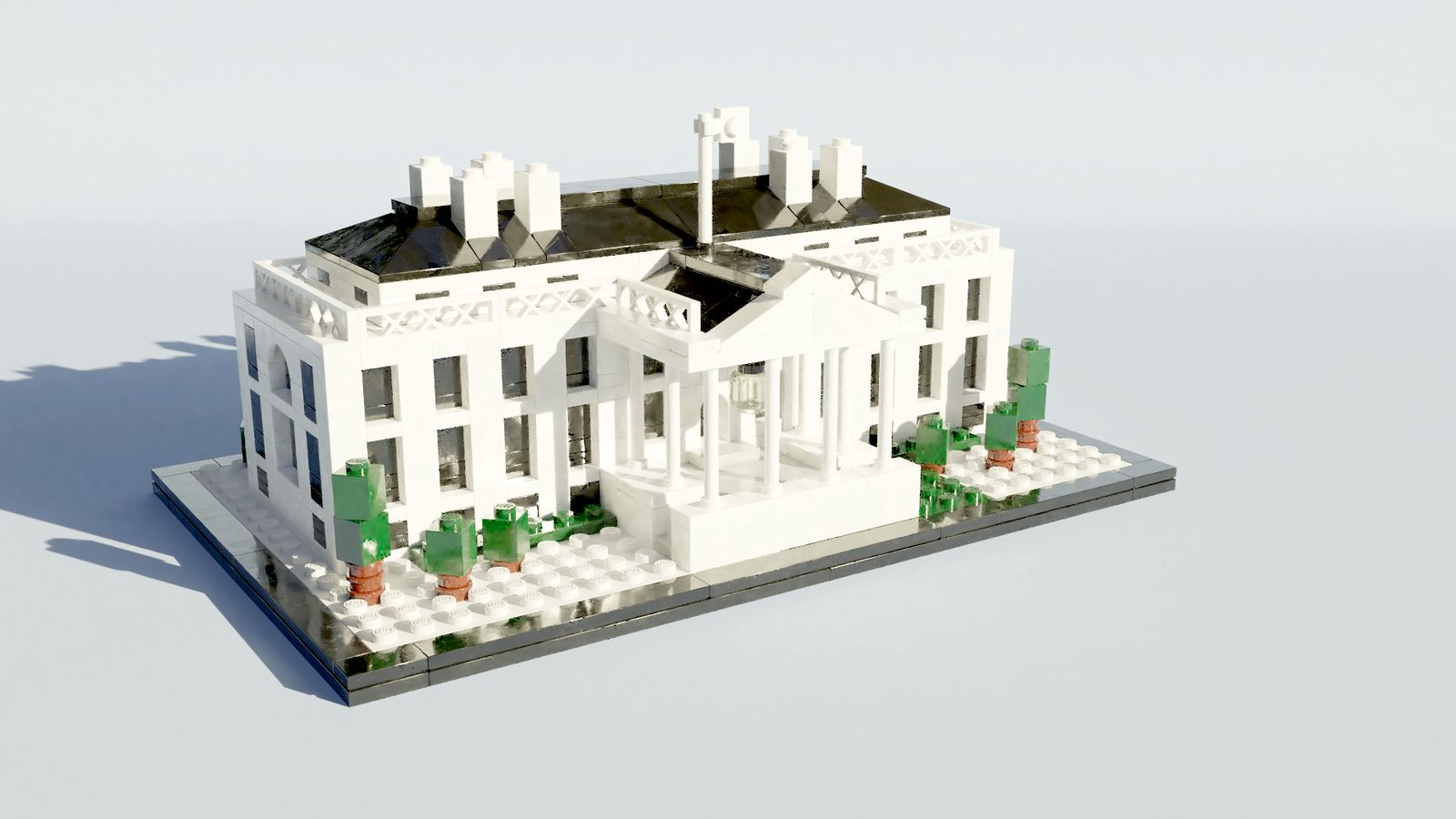 21006 The White House by Steven Reid, 2017
