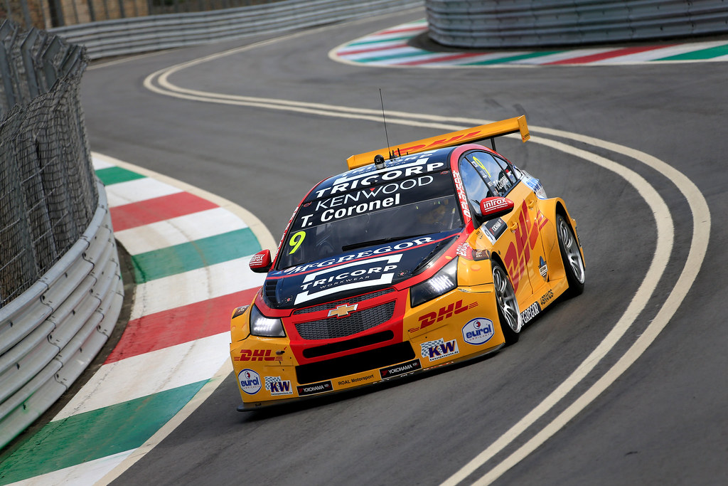 09 CORONEL Tom (ned) Chevrolet RML Cruze team ROAL Motorsport action during the 2017 FIA WTCC World Touring Car Championship race of Portugal, Vila Real from june 23 to 25 - Photo Paulo Maria / DPPI