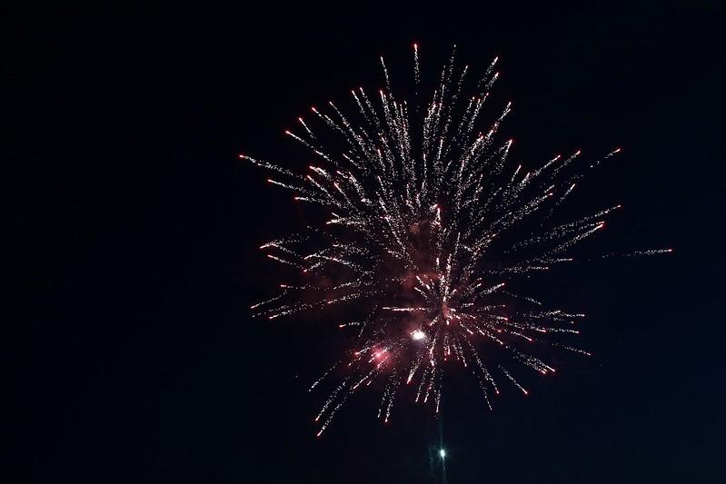 their 1st fireworks