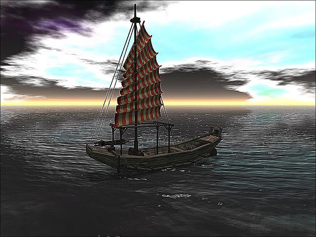 SL14B- Shambhala Sanctuary - Night Sailing Into Dreams