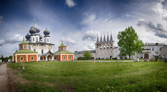 Tikhvin Assumption Monastery. 1560. Leningrad Region.