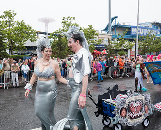 Mermaid Parade Wedding - 2
