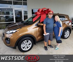 Congratulations Ollie on your #Kia #Sportage from Jason Taylor at Westside Kia!