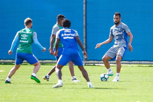 Treino Grêmio 15/07/17